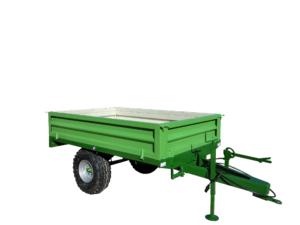 rimorchio agricolo monoasse posteriore 1500 kg