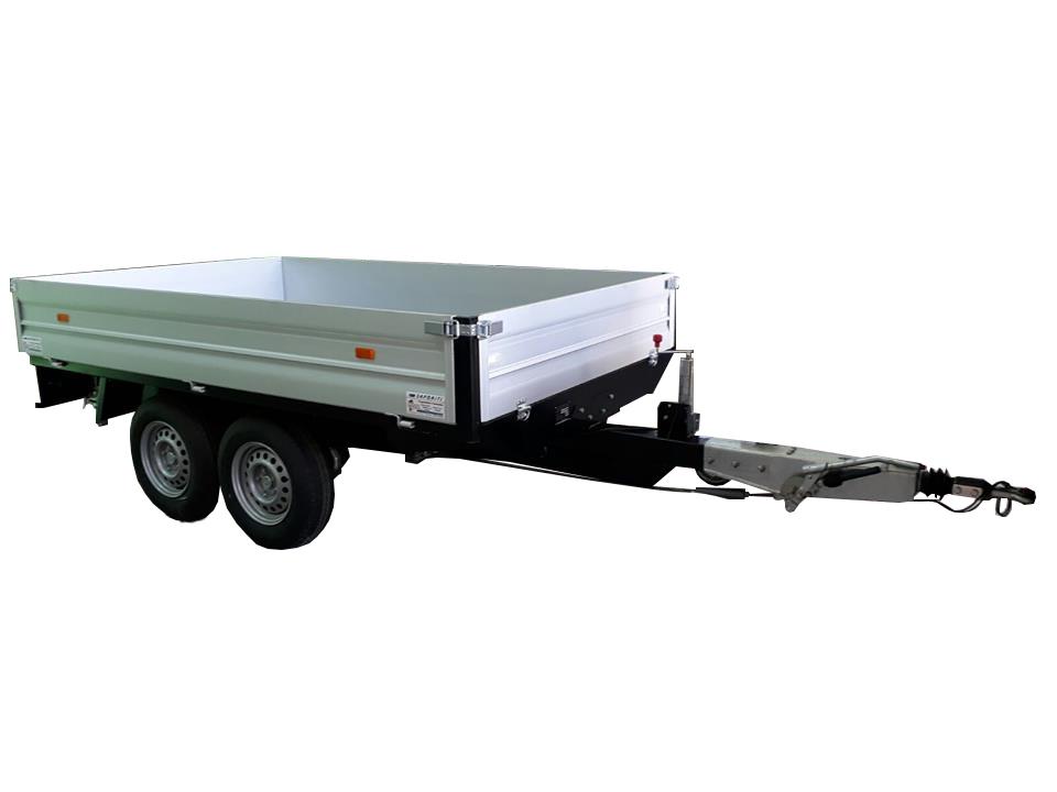 Rimorchio trasporto macchine operatrici da 3500 kg ...