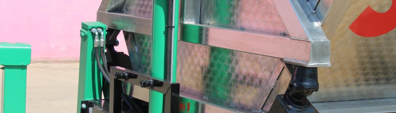 Vasca Inox per trasporto uva